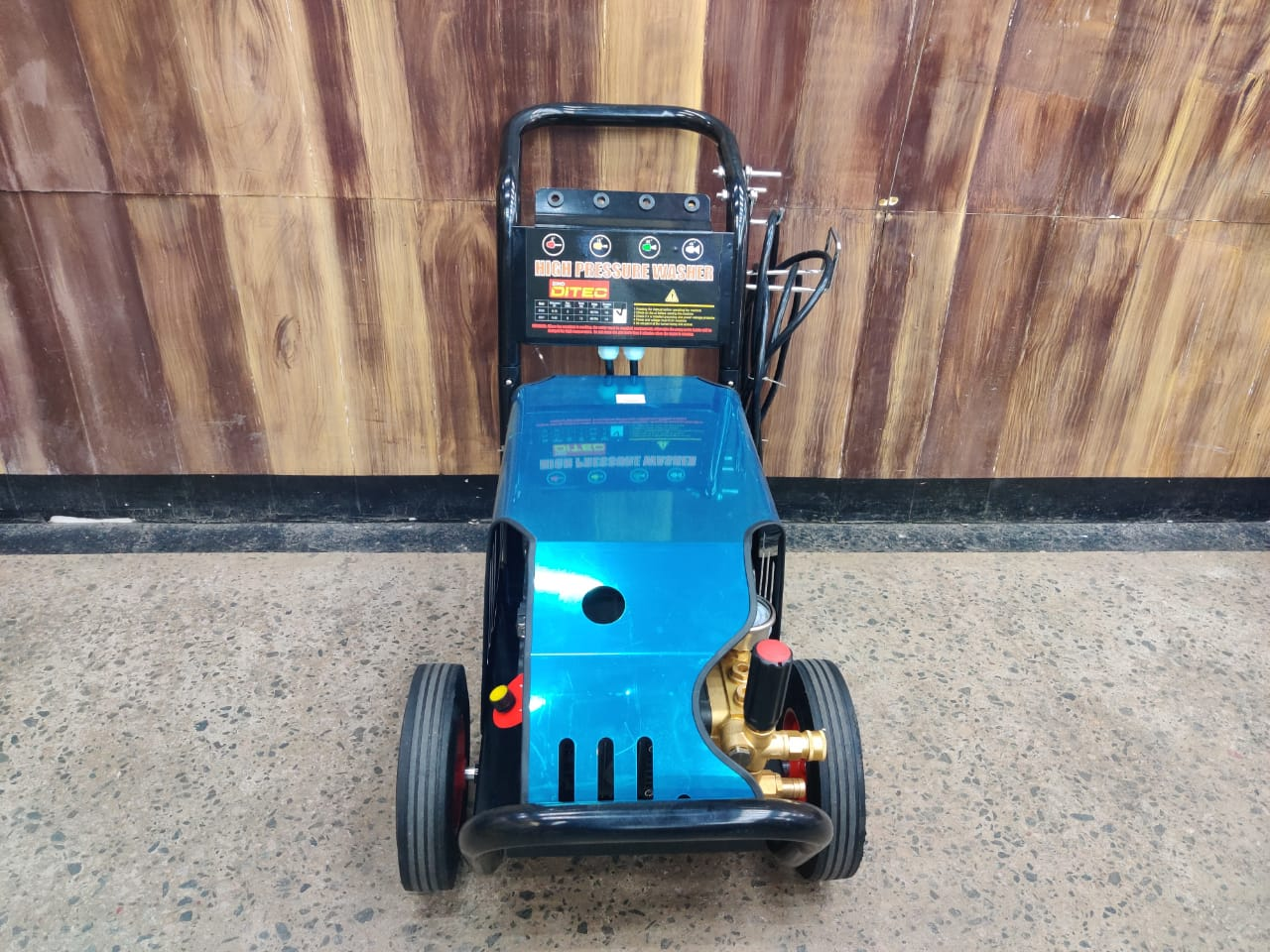 DTEC Three Phase High Pressure Washer 170Bar